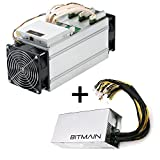 AntMiner S9 ~13.5TH/s @ 0.098W/GH 16nm ASIC Bitcoin Miner with Power Suppl