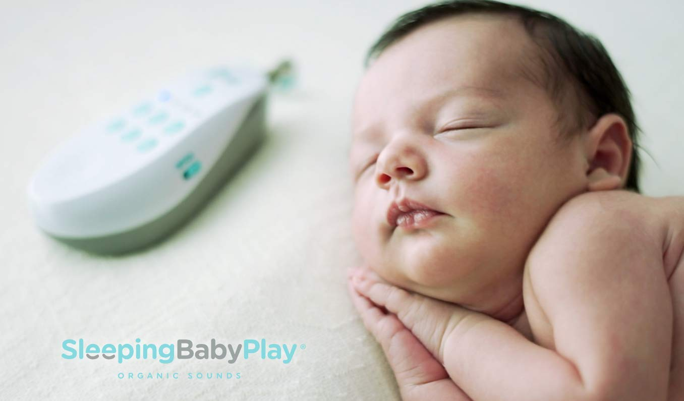 Sleeping Baby Play Dou Dou Toy White Noise Machine with Organic Sounds for Newborns Clinically Proven
