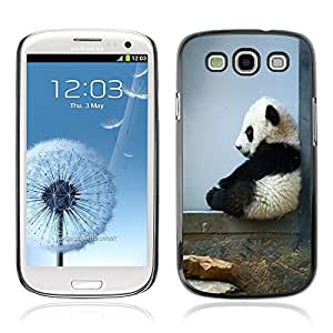 Graphic4You Cute Panda Animal Design Hard Case Cover for Samsung Galaxy S3 S III