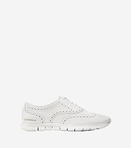d51ffc19a323a Cole Haan Women's Zerogrand Wing Oxford Open Hole, Optic White, ...
