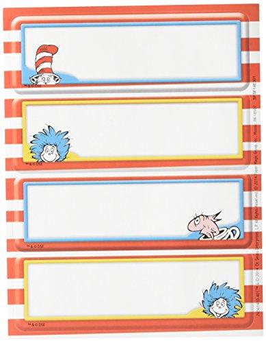 Eureka EU-656141 Dr. Seuss Label Stickers -