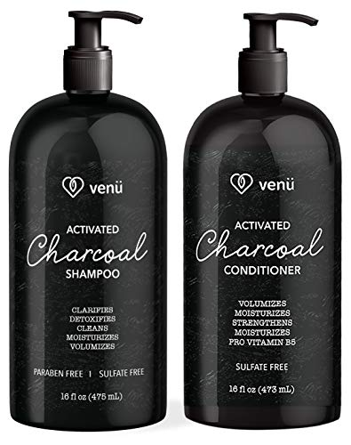 Activated Charcoal Keratin Shampoo and Conditioner Set – A