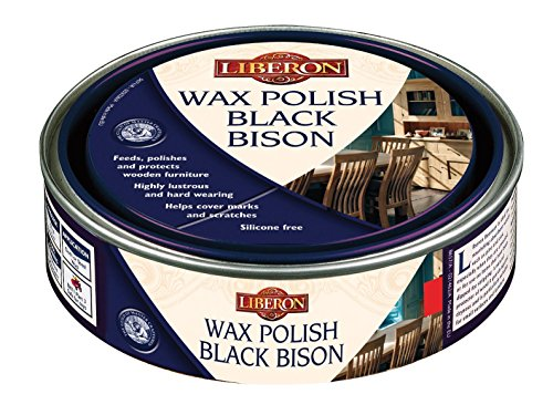 Black Bison Wax - Antique Pine Liberon Black Bison Fine Paste Wax