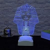 Dekorjinal 3 Boyutlu Tutankhamun Lamba V23D194