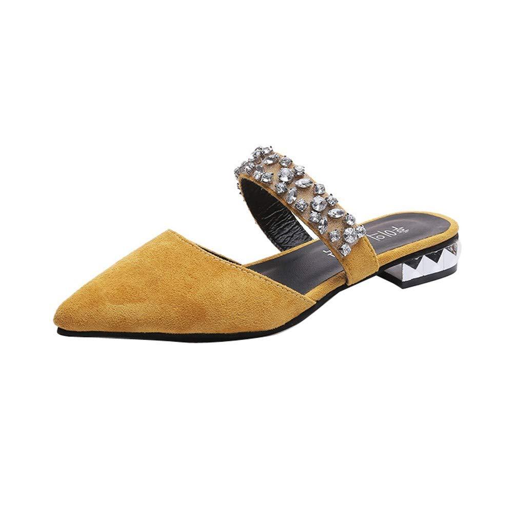 YUCH Pantoufles Femmes Pantoufles pour pour Femmes Yellow 5cd5783 - conorscully.space