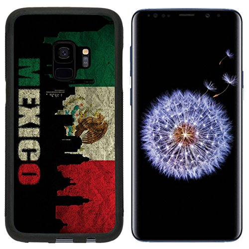- Luxlady Premium Samsung Galaxy S9 Aluminum Backplate Bumper Snap Case IMAGE ID: 18935942 View of Mexico on the Grunge Mexican Flag