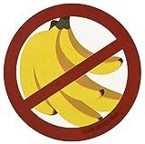 Evike Catch More Fish/No Bananas Tactical Fishing Sticker - (66368)