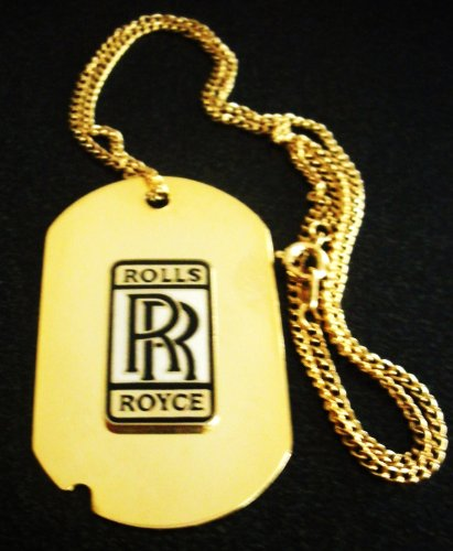 rolls-royce-solid-brass-dog-tag-necklace-with-18-gold-chain