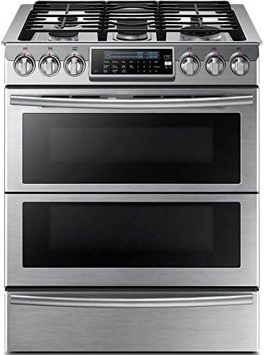 in Black Stainless Steel Samsung Appliance NX58K9850SG 30 Slide-in ...
