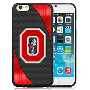 Hot Sale And Popular iPhone 6 4.7 Inch TPU Case Designed With Ncaa Big Ten Conference Football Ohio State Buckeyes 14 iPhone 6 Phone Case