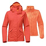 The North Face Women's Boundary Triclimate Jacket - Fire Brick Red - S (Past Season)