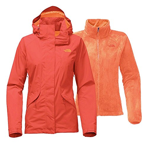 The North Face Women's Boundary Triclimate Jacket - Fire Brick Red - L (Past Season) by THE NORTH FACE