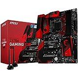 Msi Z170A M9 ACK Scheda Madre da Gaming, Nero/Rosso