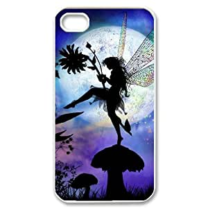 COMEON Customized Print Night Fairy Pattern Back Case for iPhone 4/4S