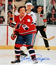 Yvan Cournoyer Autographed 8x10 Photograph - Montreal Canadiens