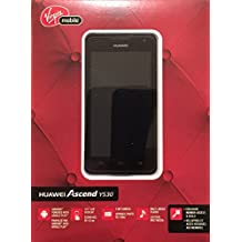 "Huawei Ascend Y530 - New Unlocked, Black, 3G, 4.5"" Screen, 4GB, Android 4.3 ** Nice Retail Box - Gift Ready ** - Jelly Bean - Smart Phone - For Rogers, FIDO, Chatr, Telus, Koodo, Bell, Virgin etc FBA"