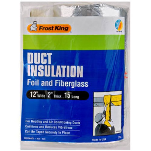 Thermwell Products 12''X15' Fbg Insulation Sp55 Pipe Insulation by Frost King
