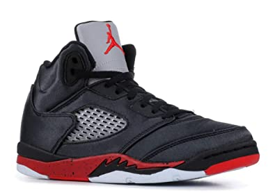 6ca0aa35360 Amazon.com | Nike Jordan 5 Retro (ps) Little Kids 440889-006 Size ...