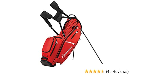 ebc9106ddf48 Amazon.com   TaylorMade FlexTech CrossOver Golf Bag Red   Sports   Outdoors