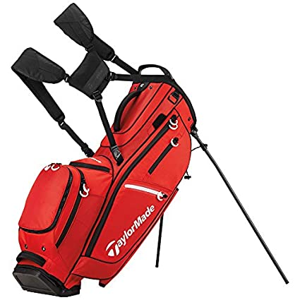 3cee96420349 Amazon.com   TaylorMade FlexTech CrossOver Golf Bag Red   Sports ...