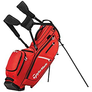 TaylorMade FlexTech CrossOver Golf Bag Red
