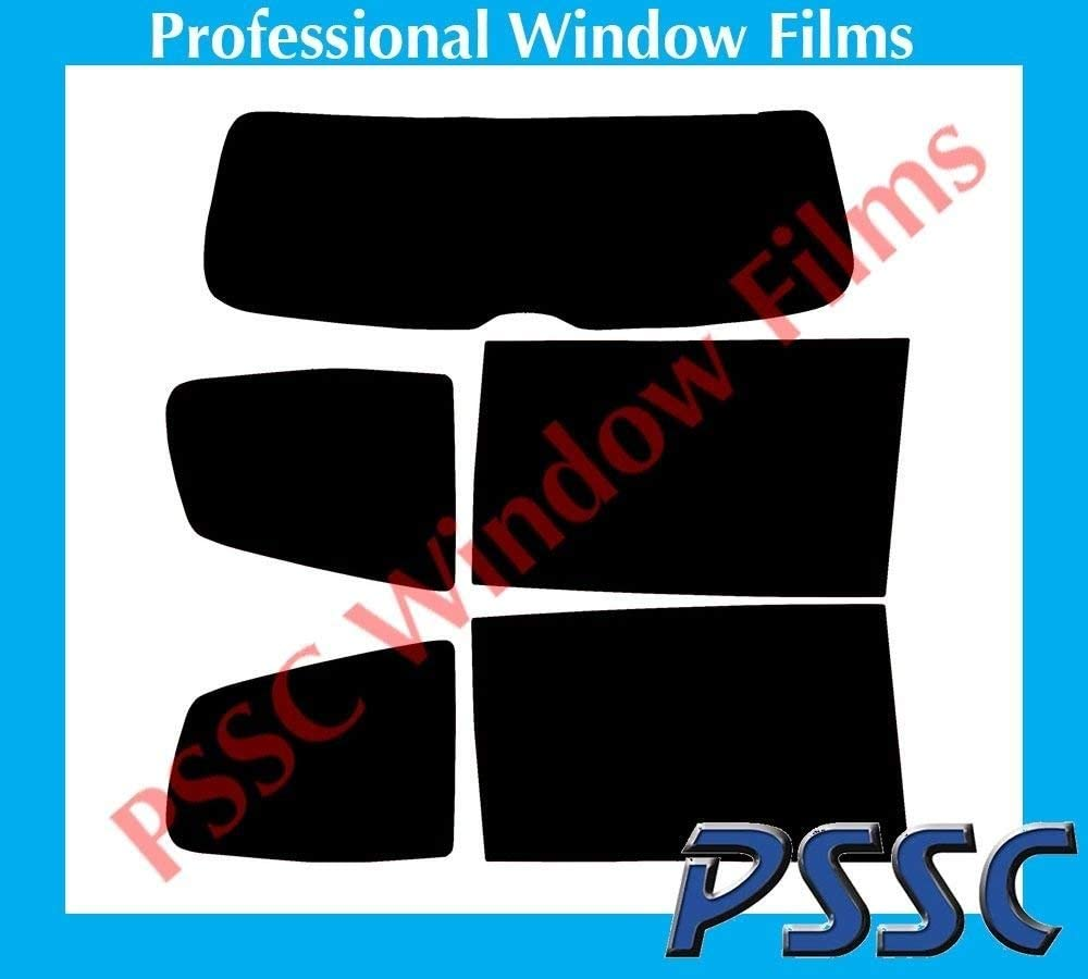 PSSC Pre Cut Rear Car Window Films for VW Sharan 2010 to 2016 05/% Very Dark Limo Tint