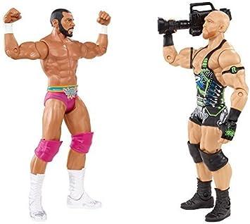 Mattel WWE Battle Pack Ryback vs. Jinder Mahal Action Figure, 2-Pack by: Amazon.es: Juguetes y juegos