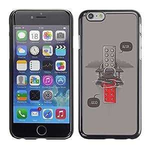 Be Good Phone Accessory // Dura Cáscara cubierta Protectora Caso Carcasa Funda de Protección para Apple Iphone 6 // Funny Alter Toy Message Hipster