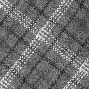 dark Slim Notch white Plaid Necktie grey in Men's amp; black Wool 6wxRqxEYP