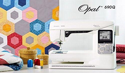 Máquina de coser electrónica Husqvarna Viking Opal 690Q: Amazon.es ...