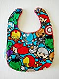 Avengers Super Hero Handmade Bib Terry Cloth Drool Bib