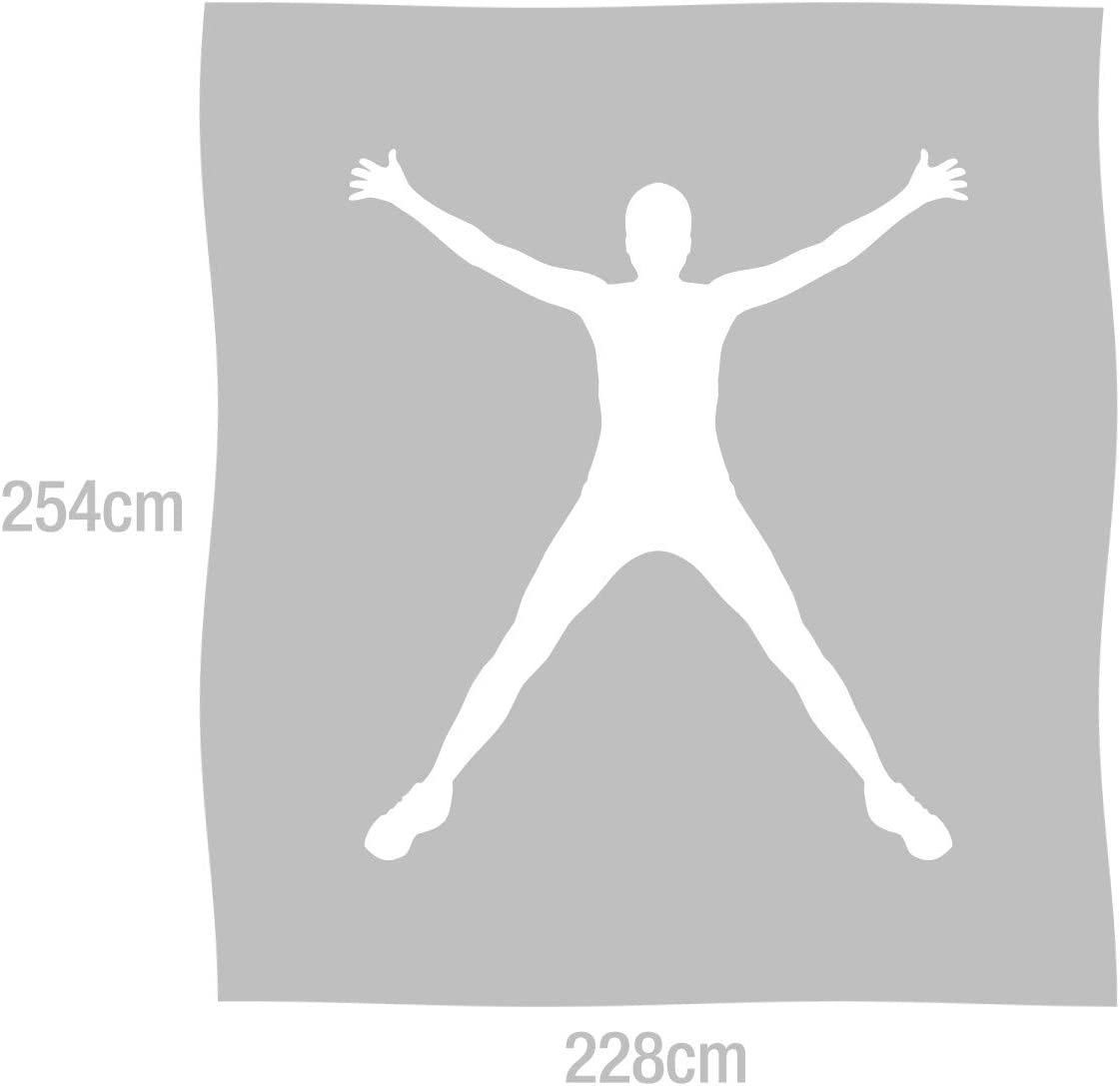 EHC per Letto e Divano Coperta a Nido dApe in Cotone Carbone 225 x 250 cm Colore: Antracite//Avorio King lussuosamente Morbida