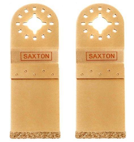 3 x Saxton 35mm Carburo Extremo Corte Hoja Fein Multimaster Bosch Makita Multiherramienta Oscilante
