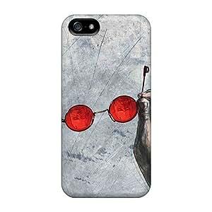 New Tpu Hard Case Premium Iphone 5/5s Skin Case Cover(daredevil I4)