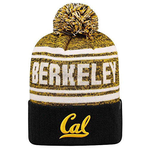 Top of the World Cal Bears Official NCAA Driven Beanie Cuffed Stocking Stretch Knit Sock Hat Cap 817668