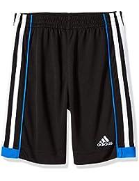 Toddler Boys' Athletic Short, Black/Blue, Black/Blue