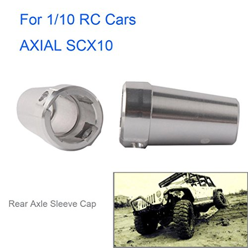 Ecosin Axial SCX10 Axial RC Rock Crawler 1:10 RC Car Accessory Rear Axle Sleeve Cap by Ecosin