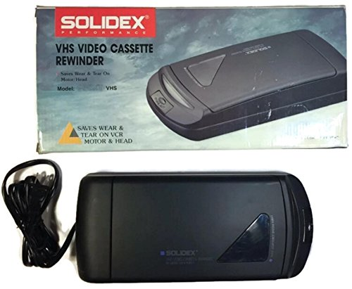 Solidex 938XT VHS Video Cassette Rewinder by Solidex