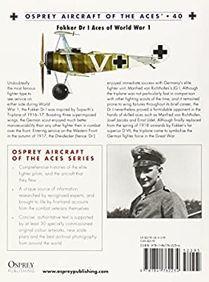 Fokker Dr I Aces of World War I (Osprey Aircraft of the Aces No 40)