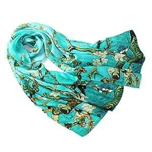 prettystern - 100% las mujeres de seda de la bufanda obra pintura de Van Gogh Art Print | DeHippies.com