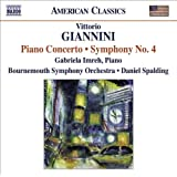 Giannini - Piano Concerto; Symphony No. 4by Giannini