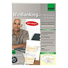 Sigel SW235 WinBanking Professional, Software for Bank Form Management Includes Bank Forms Assorted