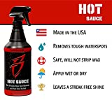 Boat Bling Hot Sauce Premium Hard Water Spot
