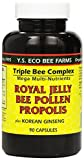 YS Eco Bee Farms Royal Jelly Bee Pollen Propolis with Ginseng (Pack of 2) For Sale