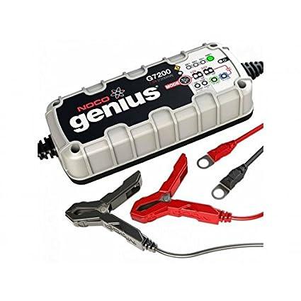 Cargador de batería NOCO Genius G7200 litio 12/24 V 7,2 a ...