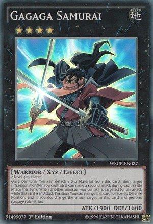 Yu-Gi-Oh! - Gagaga Samurai  - World Superstars - 1st Edition