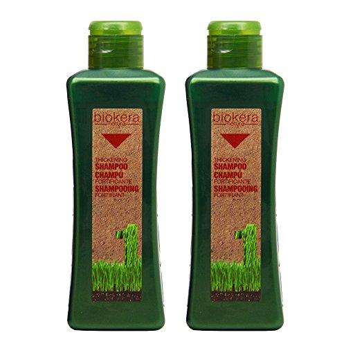 """Salerm Biokera Natura Thickening Shampoo 10.8oz / 300mL""""Pack of 2"""""""