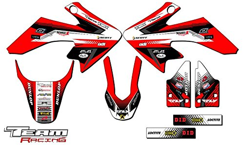 Team Racing Graphics kit for 2004-2012 Honda CRF 50, ANALOG