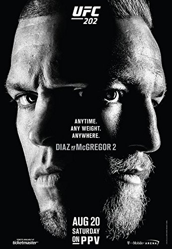 Nate Diaz V Conor McGregor UFC 196 Art Print Photo Pic Poster A3 A4