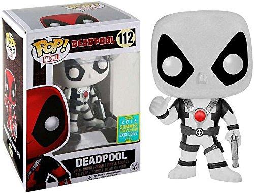 Funko Pop Marvel: Deadpool (White) 2016 SDCC Exclusive Vinyl Figure